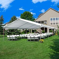 20 x 40 Canopy Tent & Backyard Party Rentals